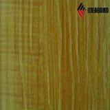Feuille en bois d'aluminium d'enduit de couleur de plafond