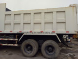 Gebruikte 6X4 Vrachtwagen van de Stortplaats Isuzu 10 de Kipwagen van Wielen
