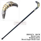 Cana-de-cabeça Águia Metal Metal espada curta Stick 90cm HK8347A