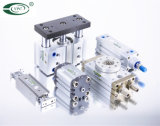 ISO6431 de standaardCilinder van de Lucht van Festo DNC Pneumatische