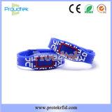 Технология RFID темно-синяя силиконовый браслет Мужские браслеты горячая продажа наручная повязка для управления горячих источников