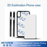 2.a caja/cubierta del teléfono de la sublimación 3D para el iPhone X del iPhone 8