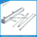 Suporte para rolo de alumínio integral/Roll Up Display/puxe o Banner em alumínio
