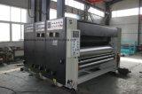 自動高速4カラー型抜き機械に細長い穴をつける波形のカートンのFlexoの印刷