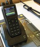 O rádio em dois sentidos da faixa da freqüência ultraelevada com GPS informa a função