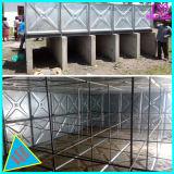 Reforço exterior de chapa de aço galvanizado do tanque de água