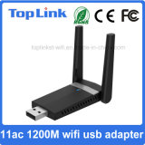 802.11AC 2T2R высокая скорость 1200 Мбит/с USB 3.0 для беспроводной сети WiFi карточки с внешней антенной