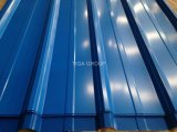Techos de metal galvanizado impermeable de color teja con precio de fábrica