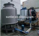25t/Day verwendete Kühlraum-Korea-Eis-Hersteller-Maschinen-große Flocken-Eis-Maschine