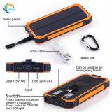De dubbele Bank van de ZonneMacht van de Batterij 10000mAh van Havens USB Externe
