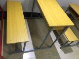 Escritorio de madera del doble de la escuela para el estudiante Sf-34D