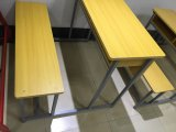 Escuela de madera escritorio doble para estudiante Sf 34D