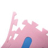 Набивку из пеноматериала EVA коврик Коврик для образования пены головоломки Установите противоскользящие ТВК