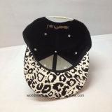 Мода Leopard 3D-печати вышивка цифровой плоский пик Sanpback винты с головкой