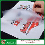 Película compensada del animal doméstico del uso de la tinta del plastisol de Qingyi para la impresión
