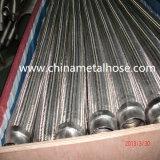 Mangueira ondulada anular do metal flexível de aço inoxidável com trança