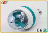 la lampadina girante della discoteca di 3W 5W il RGB LED per la discoteca della fase esclude le migliori lampadine di prezzi il LED LED