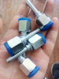 Métrica hembra de 24 grados de la junta de cono de tubo flexible hidráulico / Adaptador de tubería (20411)