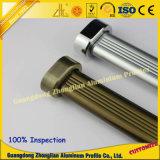 Alimentação de fábrica do tubo de guarda-roupa de alumínio 30mm*15mm
