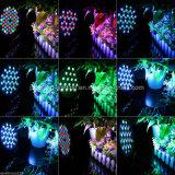 Partij van het Stadium 54X3w RGBW van het LEIDENE PARI van DJ toont de Lichte Verlichting