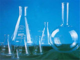 De vlakke Fles van het Glas van het Kwarts van de Bodem voor Laboratorium