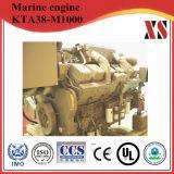 Diesel van de hoge Efficiency Echte Kta38-M1000 Cummins Mariene Motor voor Mariene Drijfkracht