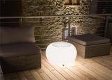 Geleuchteter Stab-Komma-Schemel der LED-Möbel-glühender Plastik-LED