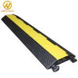2 canais de cabo de pavimentos rampa do protector de fio eléctrico para tampa de plástico