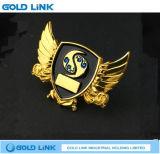 Étiquette faite sur commande d'insigne nommé de Pin de revers d'insigne en métal de cadeau de promotion