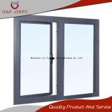Revestimiento en polvo Diseño breve perfil de aluminio doble acristalamiento Casement Windows