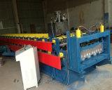 A maioria de rolo galvanizado popular da folha do Decking que dá forma à máquina