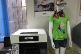 Impresora de la camiseta del paño de algodón