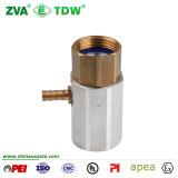 Joint en laiton de couplage de gicleur d'adaptateur de coaxial de durite de carburant (TDW-CA)