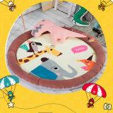 漫画の円形の綿の子供の子供の幼児ベビーベッドのマットレス