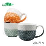 PUNTINO caldo di vendita 2017 tazza di ceramica fine impressa della minestra