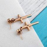 卸し売りイヤリングの方法カラー十字のイヤリング