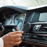 360 поверните передвижной магнитный держатель автомобиля с быстрым заряжателем