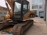 Excavador usado 20ton de la oruga 320c del excavador de la correa eslabonada del gato