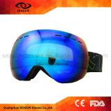 Anteojos permutables del esquí de Airsoft de la lente del imán anti a prueba de viento impermeable con estilo de la niebla