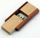 Azionamento di legno dell'istantaneo del USB con grande zona di stampa per la promozione dell'azienda