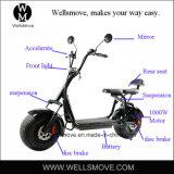 Batería eléctrica del motor 60V12A20A de la motocicleta 1000W de la bici de la vespa del interruptor de mercado de la demanda del estilo grande de Harley