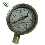 Calibri di misurazione di pressione dell'acciaio inossidabile da 4 pollici