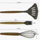 Горячий Kitchenware силикона сбываний 5PCS варя комплекты утварей кухни инструментов