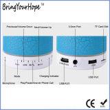 A9 altofalante plástico Crack luminoso instantâneo do diodo emissor de luz mini Bluetooth (XH-PS-656)