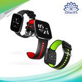 Il braccialetto IP67 di V6 Bluetooth impermeabilizza la frequenza cardiaca sincrona che riflette la vigilanza intelligente
