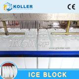 Placa de alumínio Operationautomatic simplesmente bloquear a máquina de gelo