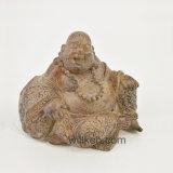 Heet verkoop het Lachen Gelukkig Boedha van de Hars Standbeeld