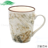 Tazza di ceramica di vendite calde di modo 2017 con la glassa di marmo