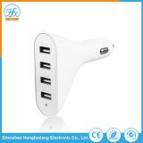 Caricatore universale del USB dell'automobile quattro di bianco 5V/6.8A per il telefono mobile