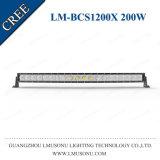 Sola fila de Lmusonu barra campo a través combinada 200W de la luz LED del trabajo del CREE LED de 40 pulgadas